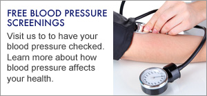 Free Blood Pressure Screenings